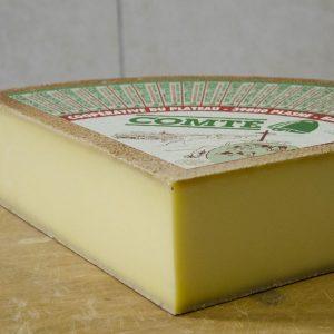 Fromage Comté jeune, fruitière de Plasne Barretaine