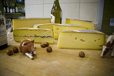 Plateau de fromage comté